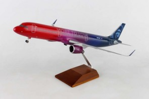 "Alaska A321neo ""More To Love"" Virgin merger livery N927AS Skymarks Supreme SKR8413 scale 1:100"