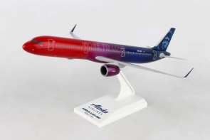 Alaska Airbus A321neo More to Love N927AS Skymarks SKR977 scale 1:150