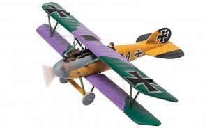 Albatros D.V 2111/17 'M' Martin Mallmann Jasta 19 'Les Tangos' Western Front Jan 1918 Shot down by 'The Grim Reapers' Corgi CG37810 1:48