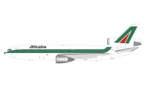 Alitalia McDonnell Douglas DC-10-30 I-DYNI with stand die-cast InFlight IFDC10AZ1121 scale 1:200