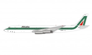 Alitalia McDonnell Douglas DC-8-62H I-DIWN with stand IF862AZ0620 InFlight scale 1:200