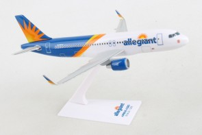 Allegiant A320 Sharklets N246NV with stand  Skymarks Lite SKR4001 scale 1:200