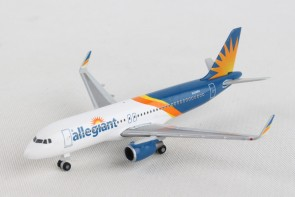Allegiant Airbus A320  N256NV Herpa Wings die cast 533140 scale 1-500