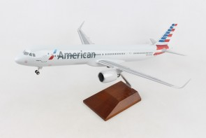 American Airbus A321neo N400AN stand & gears Skymarks Supreme SKR8422 scale 1-100