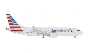 American Airlines Boeing 737Max8 N306RC die-cast Herpa Wings 535199 scale 1:500