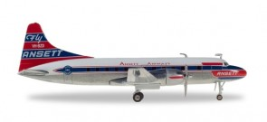 Ansett Airways Convair CV-340 die-cast Herpa 559706 scale 1:200