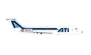 "ATI Aero Trasporti Italiani Douglas DC-9-30 I-RIKS ""Basilicata"" Herpa 571234 scale 1:200"