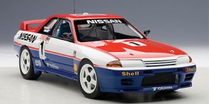 Nissan Skyline GT-R (R32) Australian Bathurst Winner 1991 Richards/ Skaife #1 AUTOart AU89180 Scale 1:18