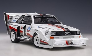 Audi Quattro S1 Pikes Peak Winner 1987 W. Roehrl #1 die-cast AUTOart 88700 scale 1:18