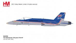 """Australia F/A-18A Hornet RAAF """"20 Years F-18"""" 2005 Hobby Master HA3556 scale 1:72"""