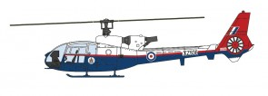 Westland Gazelle Royal Aircraft Establishment Aviation 72 AV72-24012 scale 1:72