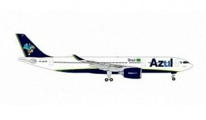 "Azul Brasil Airbus A330-900neo PR-ANZ ""O Mundo E Azul"" Herpa Wings die-cast 534987 scale 1:500"
