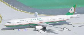 Eva Air Airbus A321 Reg# B-16201 Aero Classics Scale 1:400
