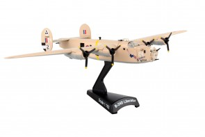 "B-24D Liberator Consolidated ""Strawberry"" Postage Stamp PS5557-5 Scale 1:163"
