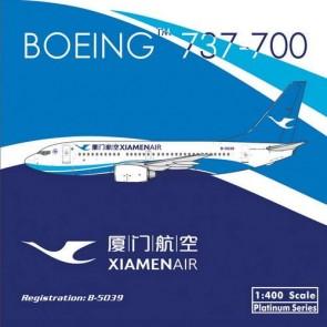 Sale! Xiamen Air 厦门航空 737-700 New livery B-5039 Phoenix 10834 scale 1:400