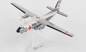 Balair-international Red Cross Transall C-160 HB-ILN Herpa 570701 scale 1:200