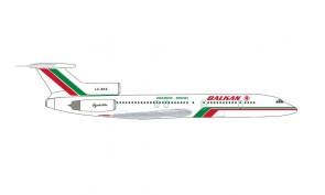 Balkan Bulgarian Airlines Tupolev TU-154M LZ-BTX die-cast Herpa 535106 scale 1:500