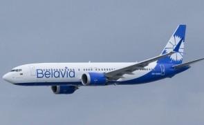 Belavia Belarusian Airlines Boeing 737 MAX 8 EW-528PA JC Wings LH4BRU247 scale 1:400
