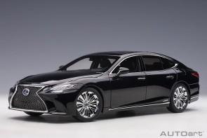 Black Lexus LC500h black interior die-cast AUTOart 78868 scale 1:18