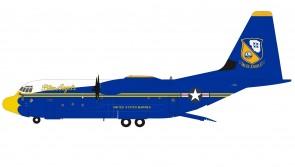 Blue Angels USA Marines C-130J Hercules (L-382) 170000 Limited Inflight200 B-130-BA-170 scale 1:200