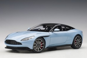 Blue Aston Martin DB11 Morning Frosted Glass AUTOart 70268 scale 118