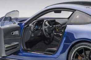 Blue Mercedes AMG GT R Brilliant Blue Metallic AUTOart 76334 scale 1:18