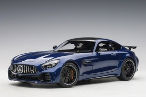 Blue Mercedes AMG GT R Brilliant Blue Metallic AUTOart 76334 scale 1:18