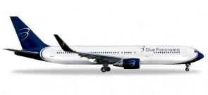 Blue Panorama Boeing 767-300 EI-CMD Citta di Milano Herpa 531559 scale 1:500