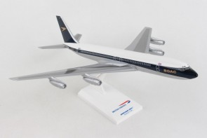 BOAC Boeing 707 G-AWHU with stand Skymark SKR1065 scale 1:150