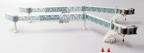 Boarding Bridge Narrow Body set of 2 JCWings LH2BDG149 scale 1:200