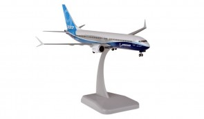 Boeing House 737max9 with stand and gears new 2019 livery HG11250G scale 1:200