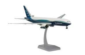 Boeing House 777-200 with stand & gears Hogan HG3732GR scale 1:200
