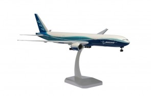 Boeing House 777-300ER with stand & gears Hogan HG3763GR scale 1:200