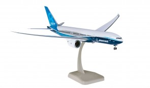 Boeing House 777-8 (Short 777X) with stand & gears Hogan HG11311G scale 1:200