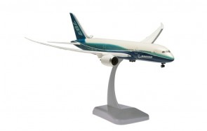 Boeing House Dreamliner 787-8 with stand and gears HG3497GR 1:200
