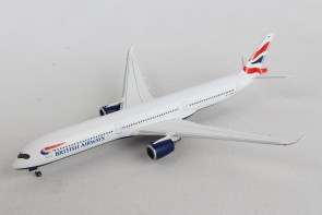British Airways Airbus A350-1000 G-XWBA Herpa Wings 533126 scale 1-500
