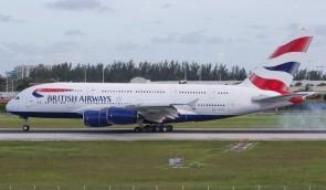 British Airways Airbus A380-800 G-XLEL Phoenix 04353 die-cast scale 1400