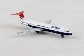 British Airways BAC 1-11-500 G-BGKE Negus livery  Herpa 531733 scale 1:500