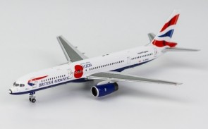 "British Airways boeing 757-200 G-BPEK Union Flag Poppy colors ""Pause to Remember"" NG Models 53158 scale 1:400"