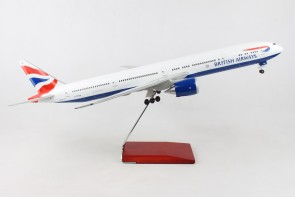 side British Airways Boeing 777-300 G-STBH stand & gears Skymarks SKR9400 scale 1-100