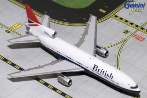 British Airways Lockheed L-1011-1 Negus Livery G-BBAG Gemini GJBAW137 scale 1:400