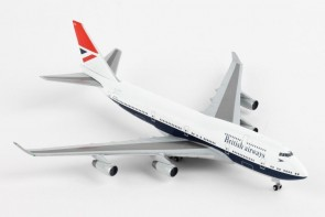 British Airways Negus Retro 747-400 G-CIVB 100 Years Herpa 533508 scale 1:500