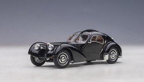 Bugatti Atlantic Type 57SC 1938 Black with Disc Wheels AUTOart 50946 scale 1:43