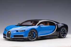 Bugatti Chiron 2017, color: French Racing Blue AUTOart 12111 scale 1:12