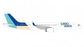 Cabo Verde Boeing 757-200 Island of Santiago Herpa diecast 534598 scale 1:500