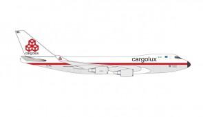 Cargolux Boeing 747-400ERF LX-NCL Herpa City of Ettelbruck 534864 scale 1:500