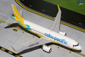 Cebu Pacific Airbus A320 Sharklets New Livery RP-C4107 Gemini CEB2320 1:200