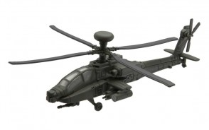 AH64 Apache Helicopter Corgi Showcase new line scale model CG90623 NTS