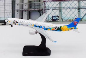 China Southern Airbus A330-300 进博会 B-5940 中国南方航空 with stand Aviation400 AV4098 scale 1:400