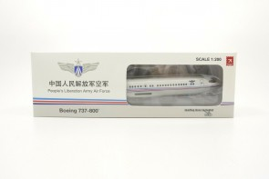 Chinese Air Force PLAAF Boeing 737-800 B-4083 with stand Hogan HG11755G scale 1:200